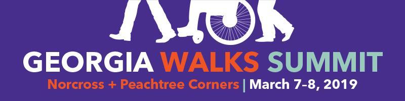 2019 Georgia Walks Summit banner
