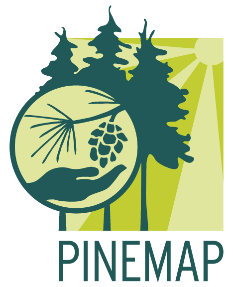 Pinemap logo horizontal