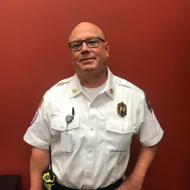 Photo of Interim Fire Chief Thomas Murphy, Jr.