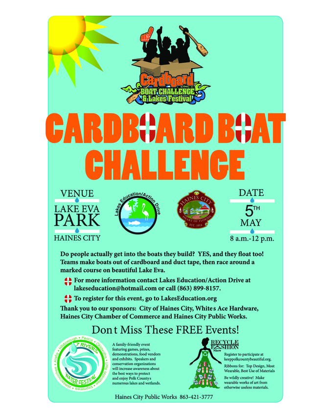 Picture of Cardboard Boat Race Flyer
