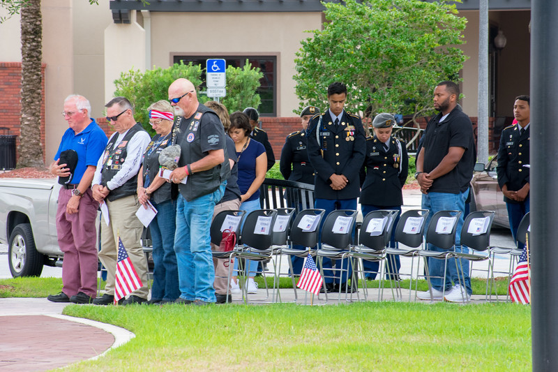 Photo of attendees at 2018 Memorial Day Ceremony