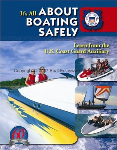 It's All About Boating Safely brochure picture