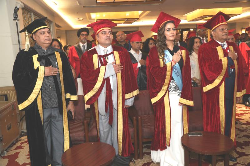 National Anthem at Graduation