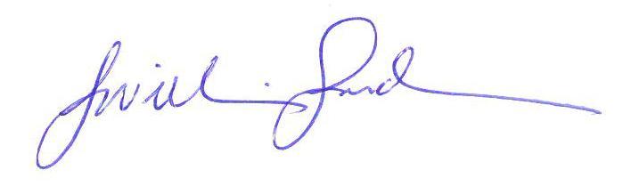 J. William Gardam signature