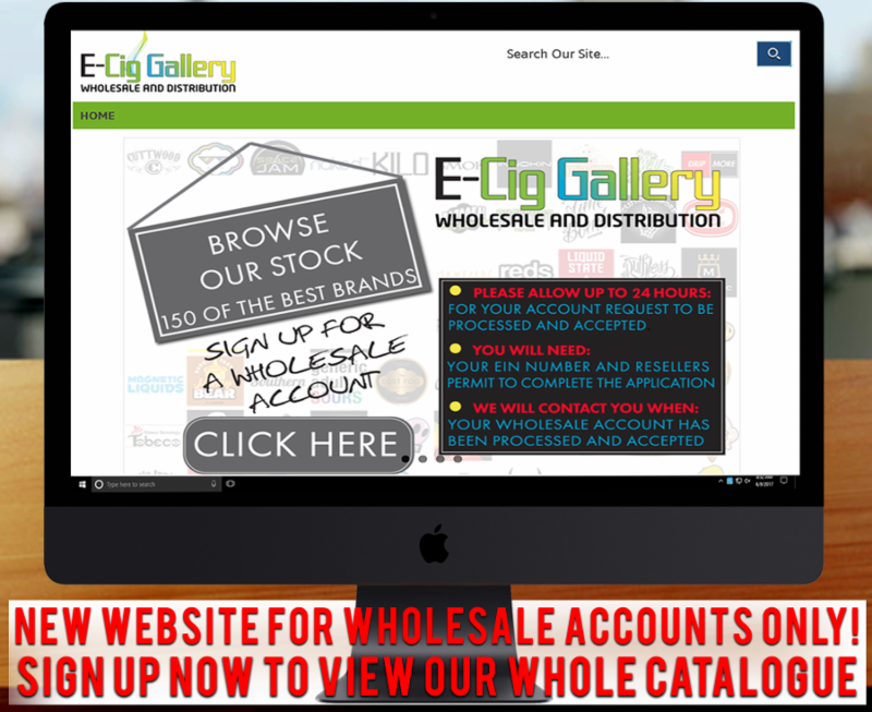 All This Weeks Hottest Items At E-Cig Gallery Wholesale and