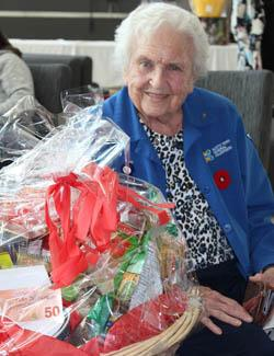 Volunteer Doris Blacklund was one of the NYGH United Way Silent Auction winners.