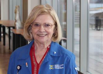 Volunteer Jackie Griffin