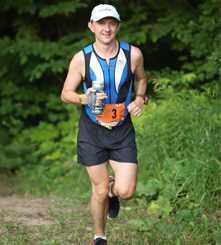 Dr. Richard Bowry, Chief of Anesthesia, is an avid runner.