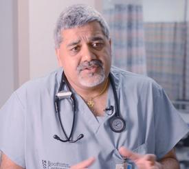 Emergency Physician Dr. Arun Sayal, North York General Hospital