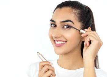 To avoid infections never share eye makeup.