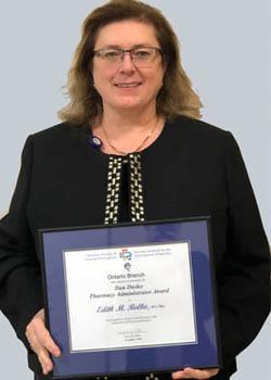 Director of Pharmacy Edith Rolko