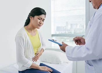 Statistically, women are more likely to develop gallstones than men as hormones during and after a pregnancy can interfere with the flow of bile.