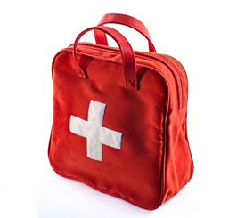 Every home needs a first aid kit.