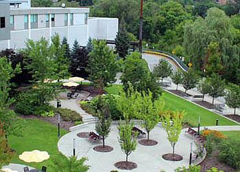North York General Hospital has a beautiful healing garden and nearby are the Don Valley River trails.