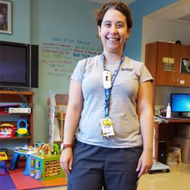 Kerri Caplan, Child Life Specialist, North York General Hospital
