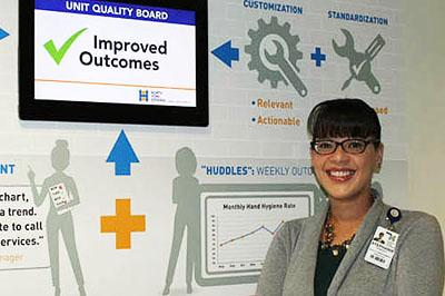 NYGH Quality Improvement Specialist Stephanie Robinson