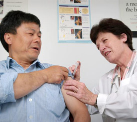 Getting vaccinated is the best way to prevent measles.