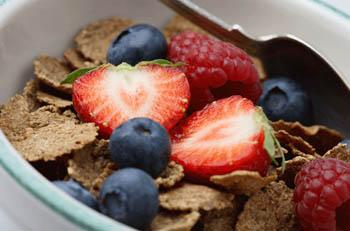 Eat at least 25 grams of fiber a day to encourage regular bowel movements and prevent constipation.