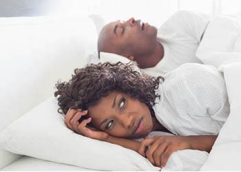 Habitual snoring is more common in men than women.
