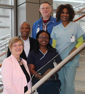 A supportive and collaborative culture is a foundation to providing patients with exceptional care.