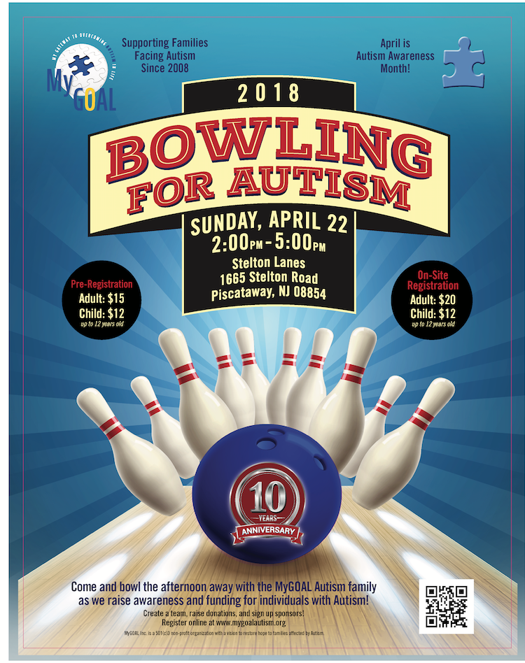 2018 MyGOAL Bowling For Autism