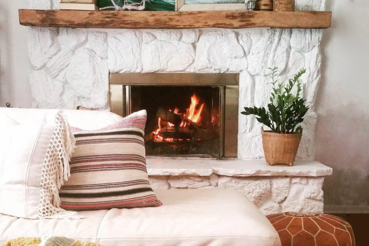 brighten home in the winter