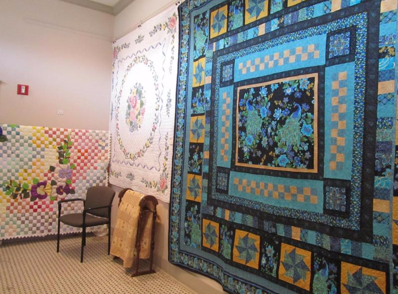 National Quilt Month Display