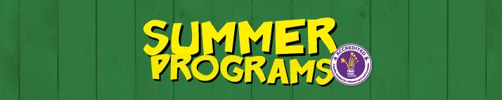 Banner image for summer programs