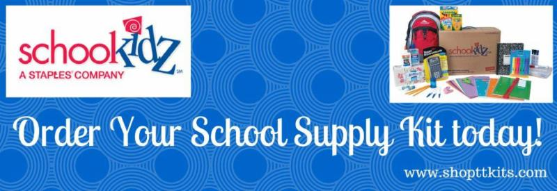 Last Day To Order School Supplies