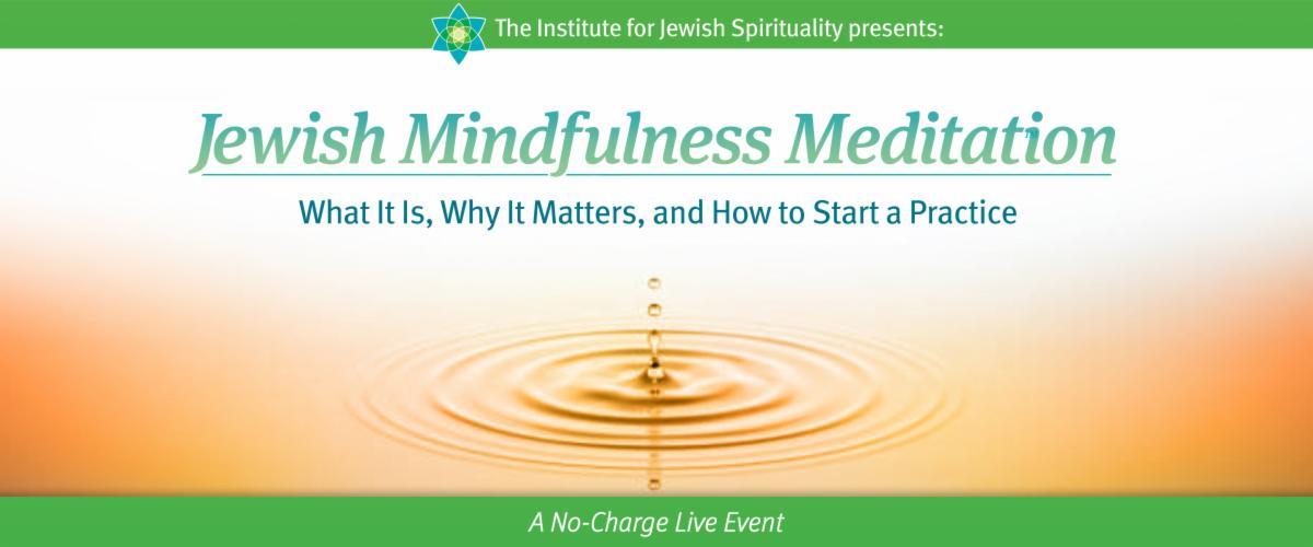 Jewish Mindfulness Meditation