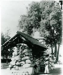 water trough historic South Pasadena 1906