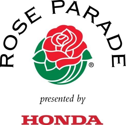 Rose Parade Logo red rose