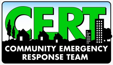 Community emergency response team CERT