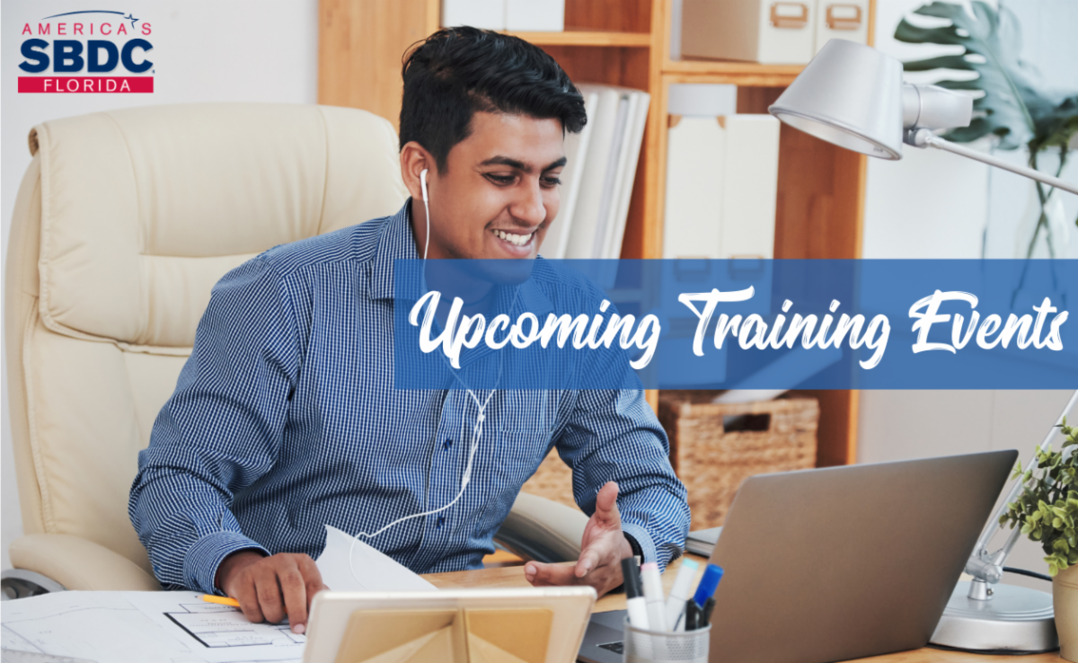 Upcoming Training Events