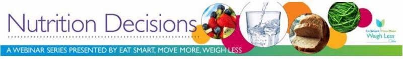 Nutritional Decisions Webinars