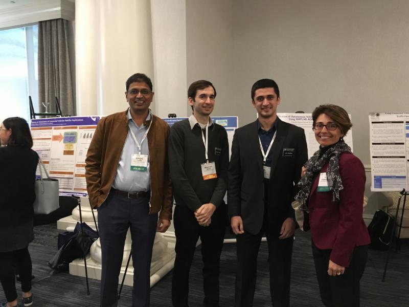 Dr. Sanjay  Ranka, Stephen Spana, Aschkan Omidvar and Dr. Lily Elefteriadou