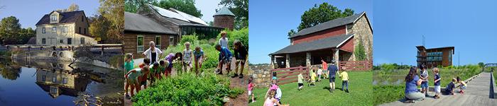 Abbott's Mill Nature Center, Ashland Nature Center, Coverdale Farm Preserve, DuPont Environmental Education Center
