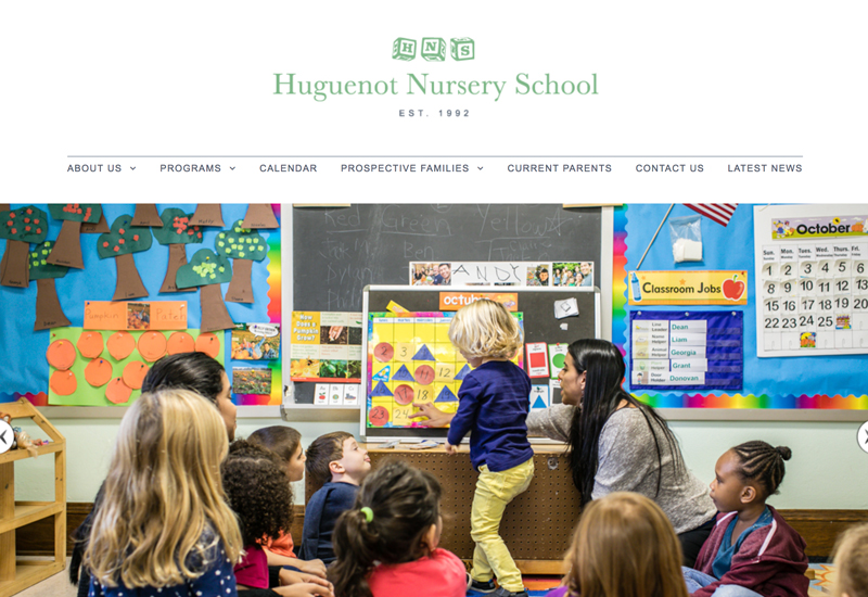 New Huguenot Nursery School Website