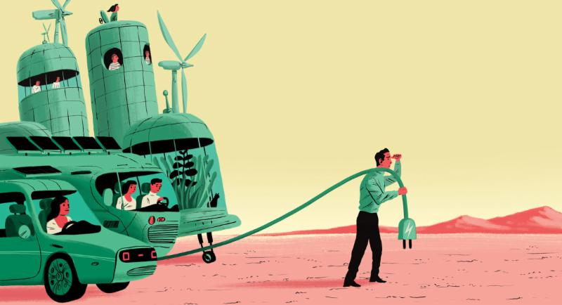 My life in the elusive green economy