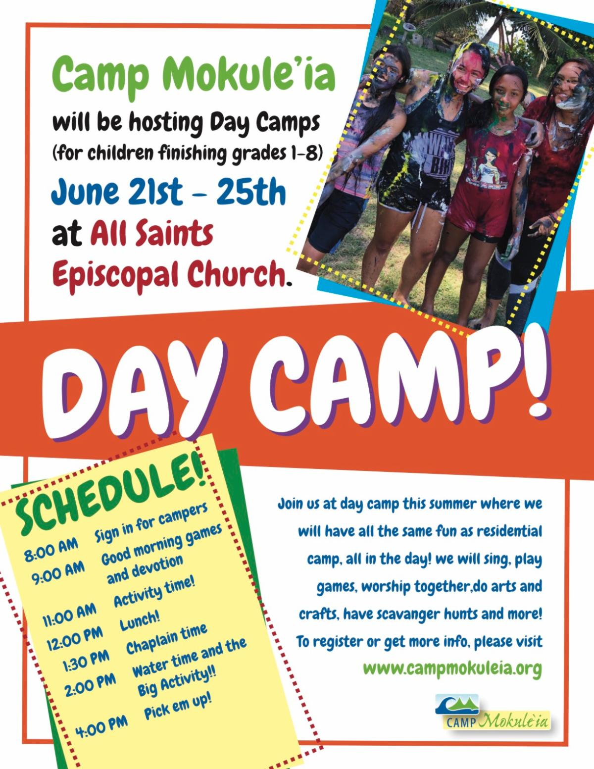 updated day camp flyer