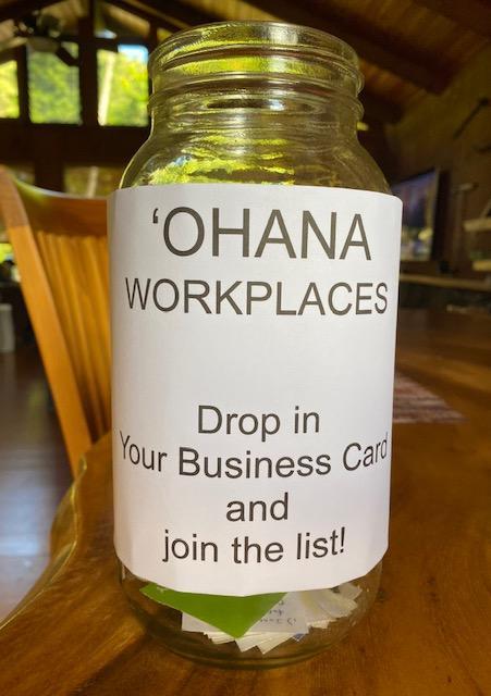Ohana workplaces jar