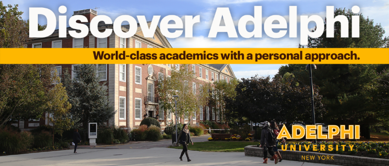 Discover Adelphi: World-class academics with a personal approach.  Adelphi University-New York
