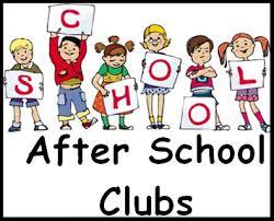 afterschool clubs