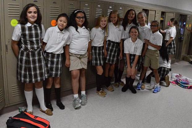 5th grade lockers!