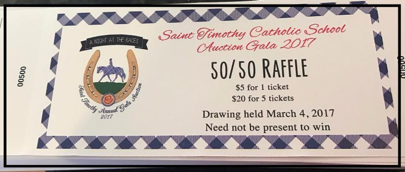 50 50 raffle