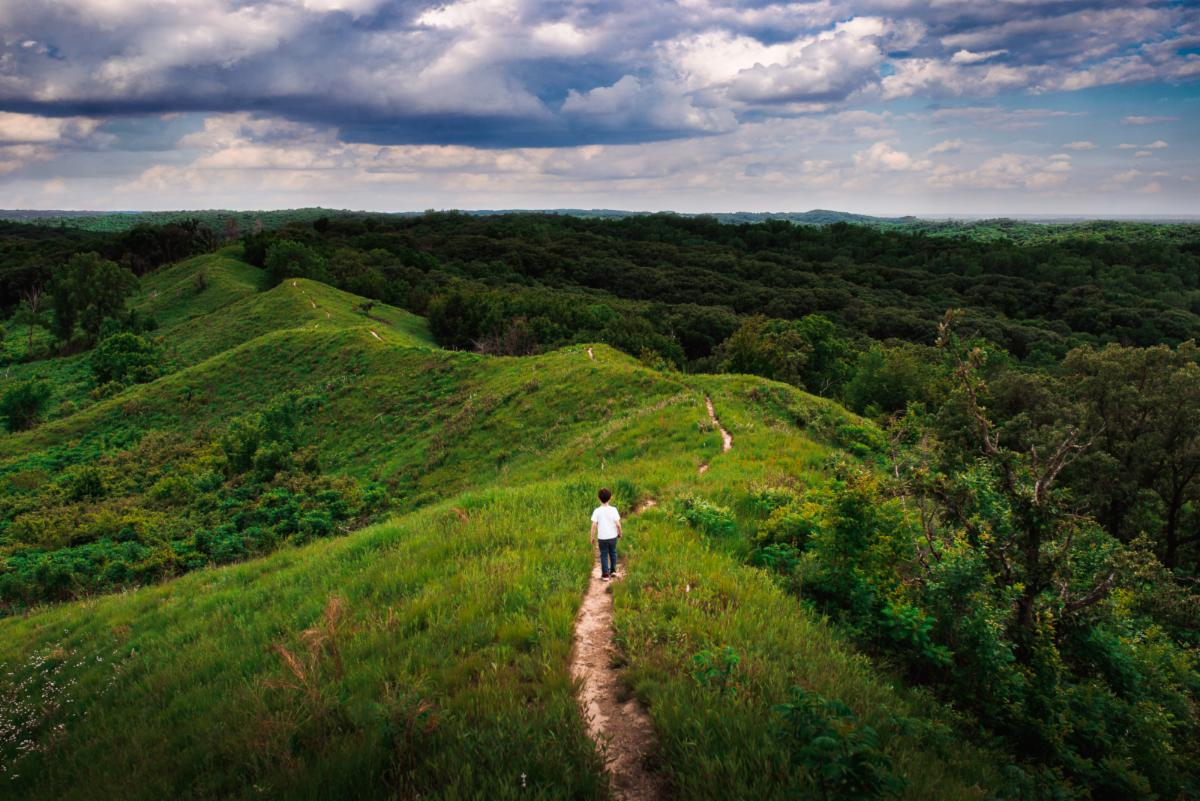 Katharine Gail Vogel Adventure in Loess Hills
