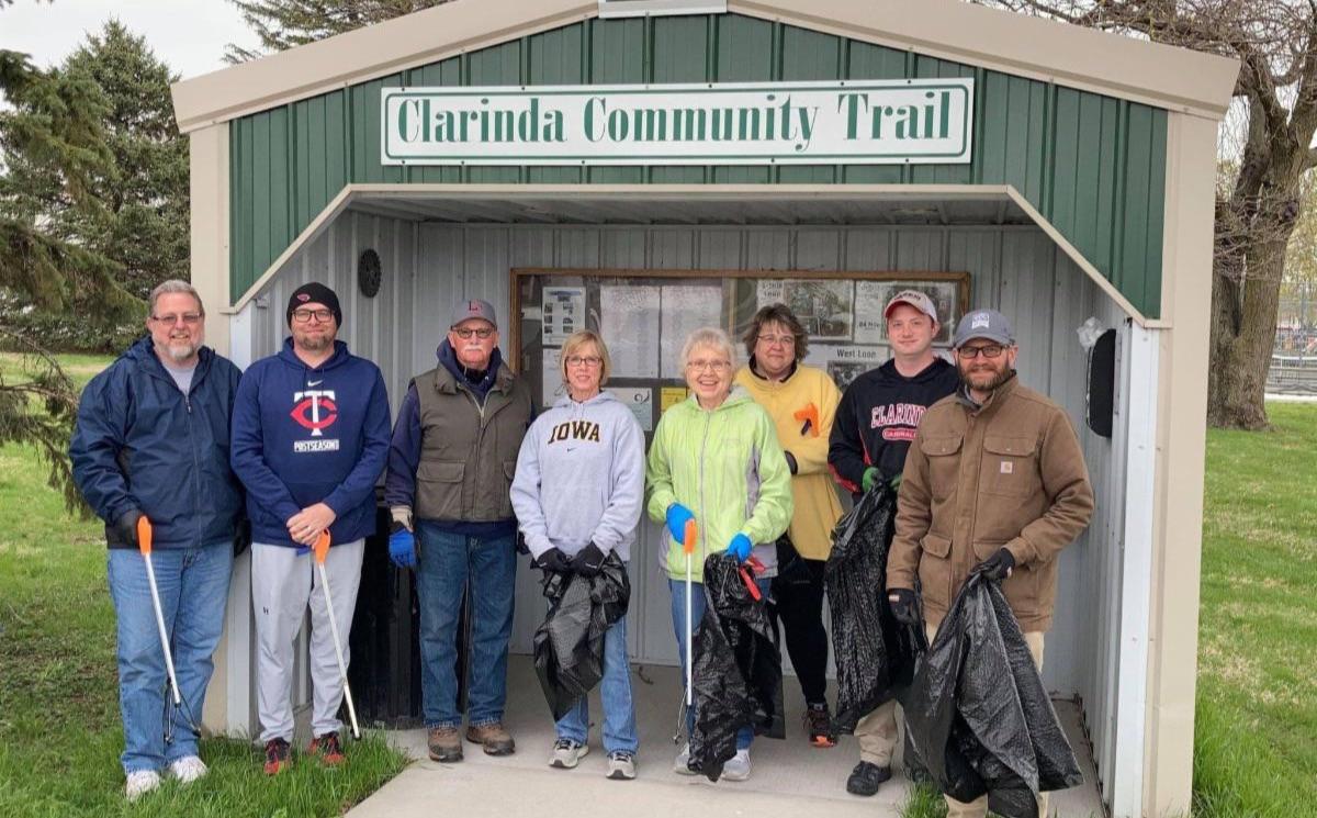 Clarinda Community Trail group