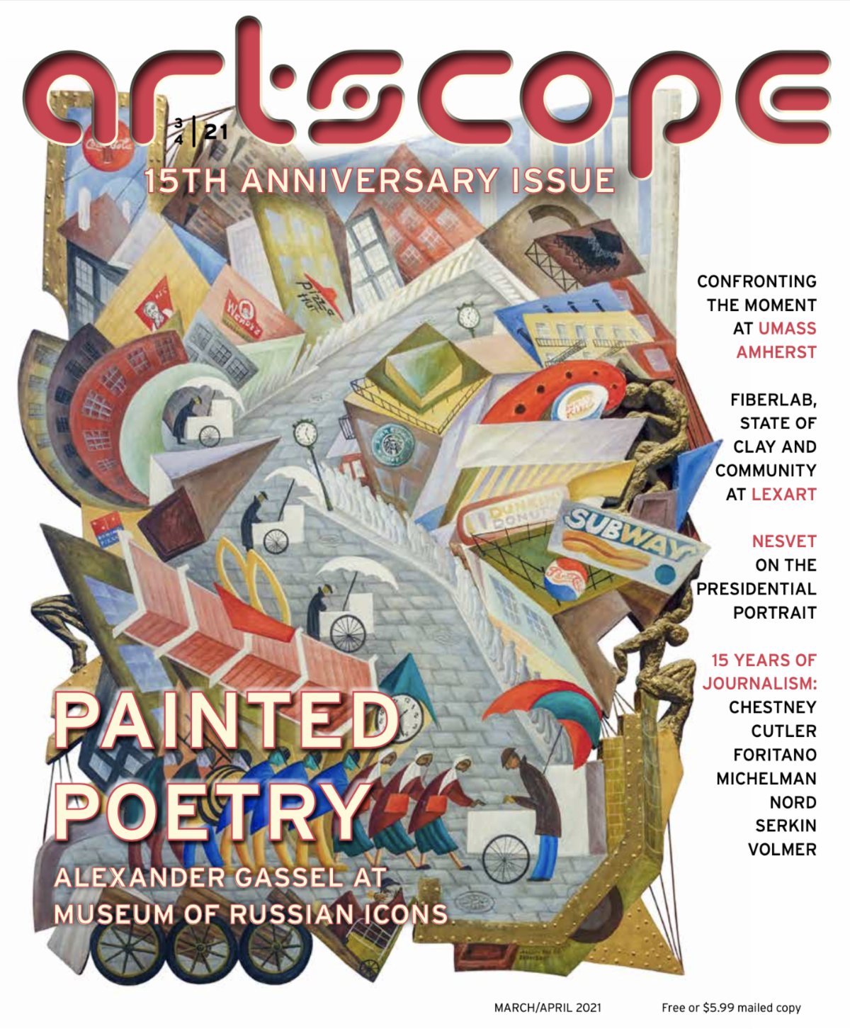 March/April 2021 Artscope