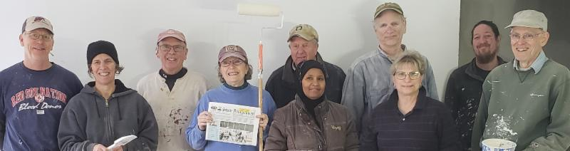The Stow Local Project Committee helped out in Acton