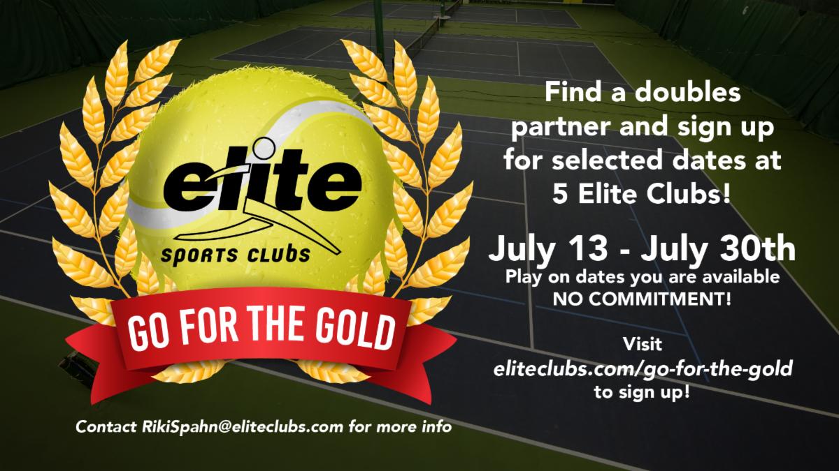 Go for the Gold Summer Tennis Flex League